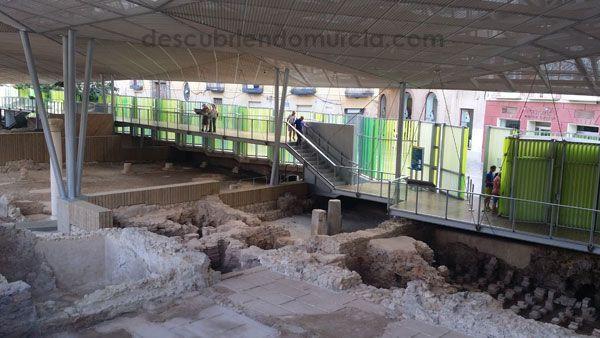 Molinete Molinete, Termas y Atrio en la Cartagena más romana