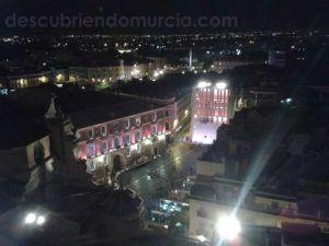 Plaza Belluga desde Catedral Murcia