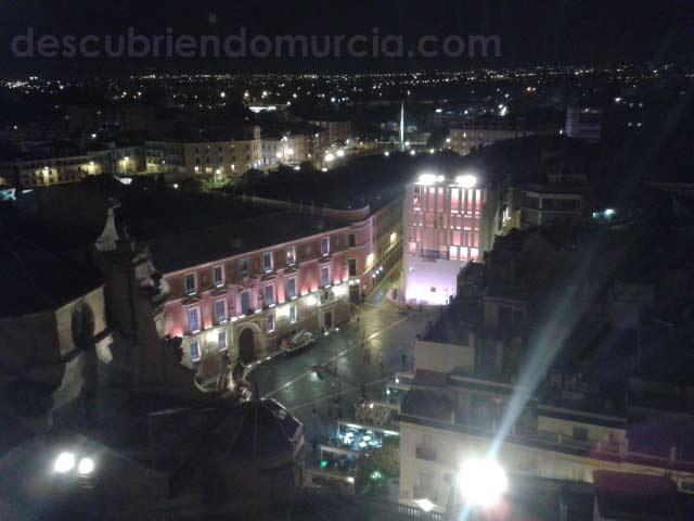 Plaza Belluga desde Catedral Murcia Una boda real en la ciudad de Murcia
