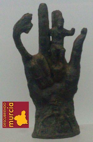 mano sabazio arqua cartagena La mano del dios Sabazio en Escombreras, Cartagena