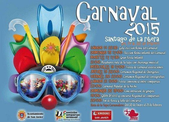 Carnaval Santiago de la Ribera Carnaval de Santiago de la Ribera 2015