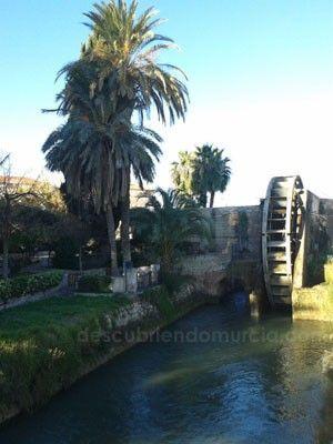 Noria Alcantarilla Murcia La noria y el acueducto romano de Alcantarilla