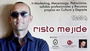 Risto Mejide UCAM 300x170 Risto Mejide dará una charla con el Foro Decyde en la UCAM