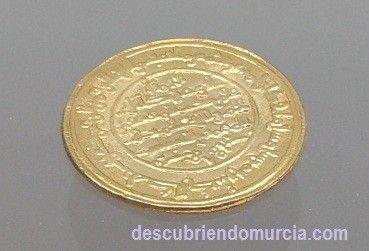 dinar Murcia Monedas de oro y plata, tesoros en la Región de Murcia