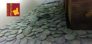 Monedas Fragata Mercedes ARQUA Cartagena 300x143 Los botones de oro del Nuestra Señora de las Mercedes