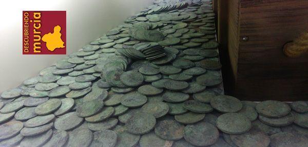 Monedas Fragata Mercedes ARQUA Cartagena Conservación de las monedas de plata y oro de La Mercedes