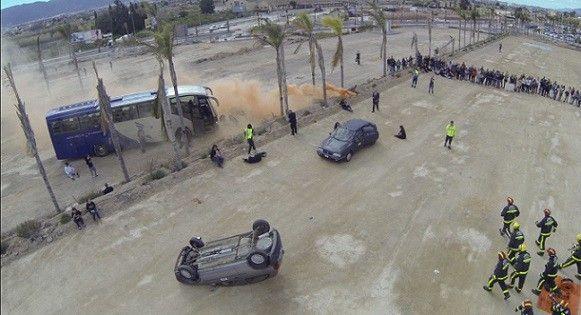 drones Murcia Drones con cámaras térmicas para operaciones de rescate