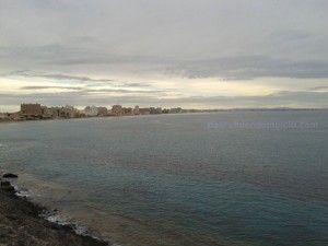 La Manga del Mar Menor 300x225 Encuentran un torpedo nazi en aguas de Cartagena