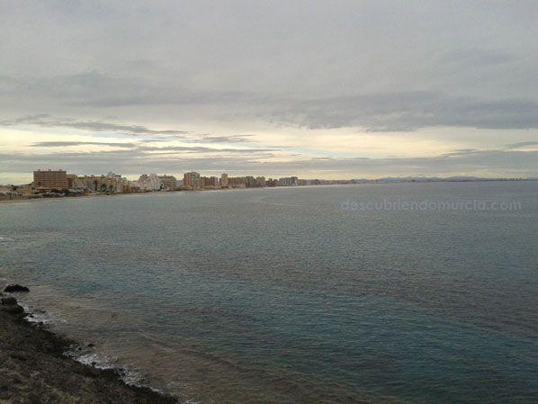La Manga del Mar Menor La torre defensiva de La Manga, la más importante de Cartagena