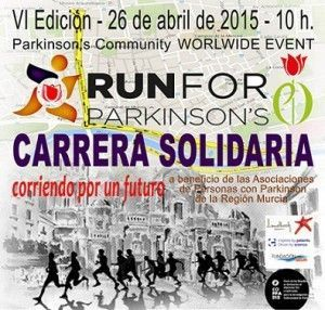 Run for Parkinson 300x286 Run for Parkinson´s el próximo 26 de abril en Murcia