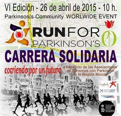 Run for Parkinson Run for Parkinson´s el próximo 26 de abril en Murcia