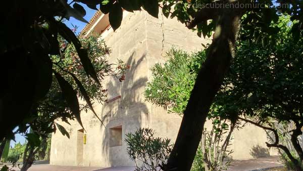 Torre Alguazas Murcia El torreón fortificado de los obispos en la huerta de Alguazas