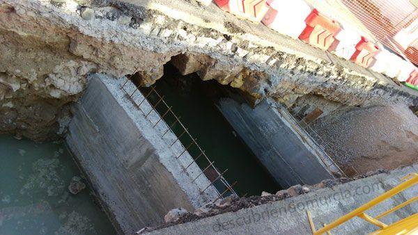 puente Floridablanca Aljucer Murcia El destruido puente del Conde de Floridablanca en Aljucer
