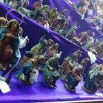El tradicional belén en la Muestra de Artesanía
