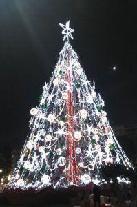 Murcia arbol navidad 199x300 La Región de Murcia se prepara para la Navidad