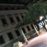 La plaza Preciosa de Murcia y Miguel de Cervantes