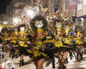 Carnaval Aguilas 300x243 Carnaval Águilas. Una fiesta de Interés Turístico Internacional
