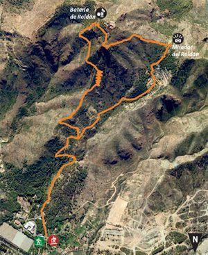 MOnte Roldan Cartagena El Monte Roldán Cartagena con sus cañones, águilas, búhos y halcones