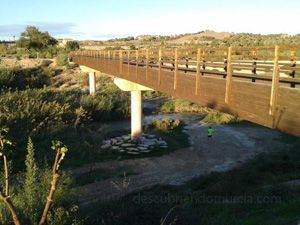 Puente Ovejas Contraparada Murcia El puente de las ovejas en La Contraparada