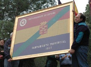 Scout Murcia Scout Exploradores de Murcia y la bandera de la República