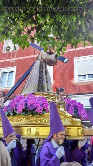 Viernes Santo Murcia Nuestro Padre Jesús Nazareno de Murcia y su misterioso origen