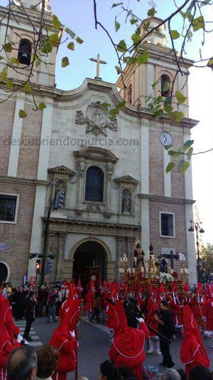 coloraos Sangre miercoles Santo Murcia Carmen Cofradía de La Sangre, los Coloraos y San Vicente Ferrer