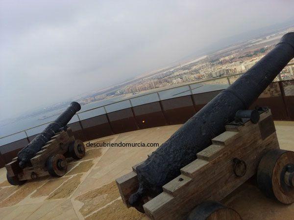 Castillo Aguilas Region de Murcia Castillo San Juan de Águilas: asedios, terremotos y derrumbes