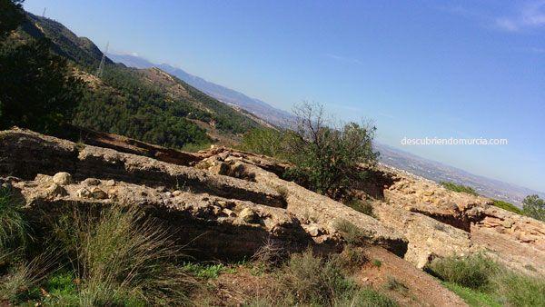 castillo Portazgo puerto cadena murcia Almohades, el rey Lobo y los castillos de la Asomada y el Portazgo Murcia