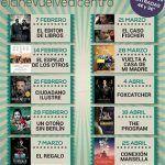 Nuevo Teatro Circo Cartagena. Programación Marzo 2017