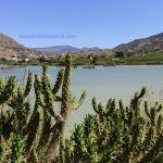 Pantano de Ojós en el Valle de Ricote