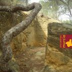 Trincheras en El Valle Murcia para defender Cartagena
