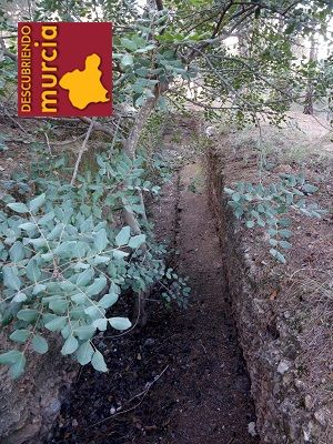 El Valle Murcia Trincheras en El Valle Murcia para defender Cartagena